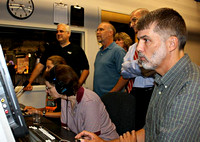 August 13, 2012 - A full crew man the controls for the taping of the 100th Episode of Physician Focus. © Mike Torosian