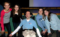 Rick Hoyt at Middle School