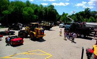 June 25, 2012 - Colella's Parking Lot was the site of the first annual Touch A Truck event. More photos at Scene in Hopkinton.© Mike Torosian