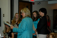 Girls Scouts recognized by Senator Karen.