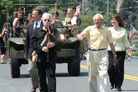May 28, 2012 - The Hopkinton Memorial Day parade marches up Main Street toward the Town Common.© Dick Bartlett