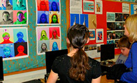 March 13, 2012 - The Hopkinton Middle School held their Related Arts Curriculum Night. More photos at Scene in Hopkinton.© Mike Torosian