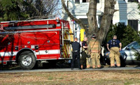 March 13, 2012 - Firefighters with Engine 4 and Deputy Chief Slaman responded to Mayhew Street for a reported kitchen fire at about 5 PM.© Dick Bartlett
