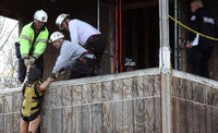 March 13, 2012 - Hopkinton Firefighters attended the District 14 Technical Reacue Team drill held in Ashland.© Dick Bartlett