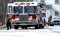 March 15, 2012 - Firefighters responded to a spill on Chestnut Street at about 1 PM.© Dick Bartlett