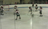 January 11, 2012 - Hillers take to the ice and warm up before their game against the Ashland Clockers at Navin Arena.© Mike Torosian