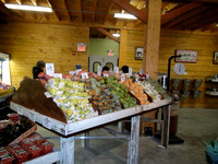 January 5, 2012 - The shelves are stocked on opening day at Water Fresh Farm© Michelle Murdock