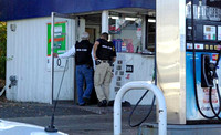 November 9, 2011 - Federal Agents closed Hopkinton Gas this morning during a raid. Agents on scene would not comment on the nature of their business.© Mike Torosian