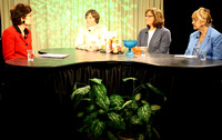 December 8, 2011 - The panel from Senior View at HCAM taping their latest episode.© Mike Torosian