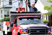 July 4, 2011 - Grand Marshal for the 2011 Hopkinton horrible's parade was Lily Holden.© Dick Bartlett