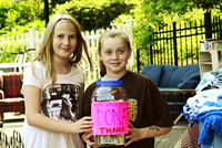 June 4, 2011 – Becky Belisle & Caroline Murray doing their part for Team Believe and the Avon 2 Day in NY. © Vicki Francis