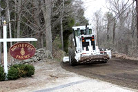 April 12, 2011 - The reconstruction and repaving of Fruit Street is underway.© Dick Bartlett