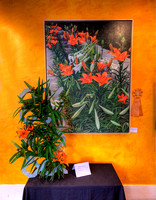 Ruth Gorman's interpretation of Sidewalk Lilies by Carolyn Kinloch-Winkler