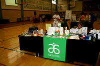 "Arbonne was one of many ""green"" vendors displaying their wares.© Michelle Murdock"