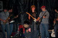 """Tiffany's Birthday"" kicked off the Fall Jam.  Band members, from left, are Ben Dibona, Tim O'Malley, Josh Perez on drums, Aidan Connelly, John Schofield and Lucas Carbonneau."