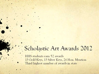 HHS Scholastic Art Awards 2012