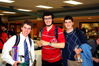 Justin Roshak, Alex Kirshy and Matt Cook posing after the event.