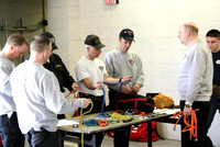 March 8, 2011 - The District 14 Technical Rescue Team held it's monthly drill at fire headquarters.© Dick Bartlett